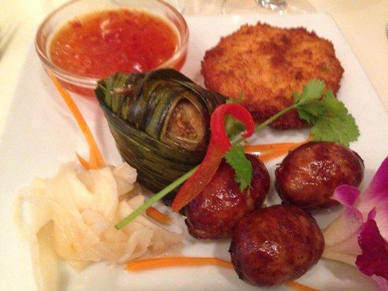 Suan Thaï : L entrée dégustation au menu