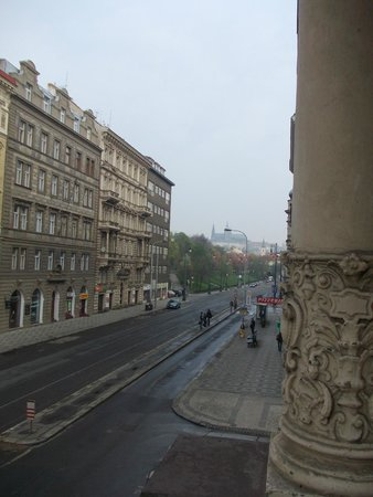 Hotel Atos : Widok z balkoniku