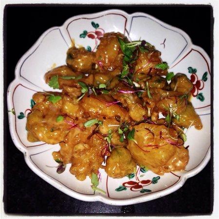 Sushi Yachiyo: Popcorn prawn ... delicious!