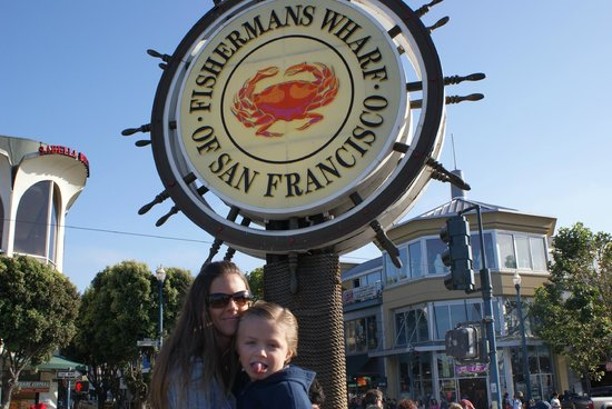 Omni San Francisco Hotel : Fisherman's Wharf, about 10 min from hotel on cable car.