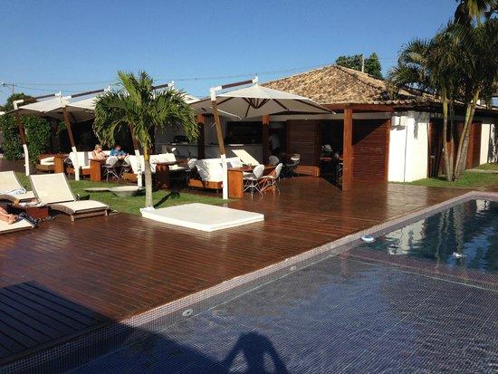 Serena Hotel Boutique Buzios: Pool + Dining