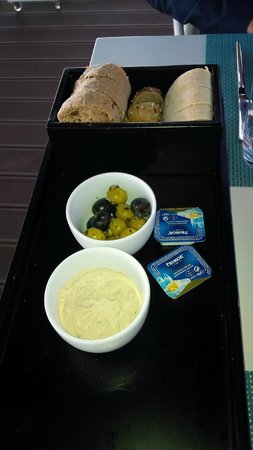 Darwin's Cafe: The couvert, just some amuse-bouches to start with!