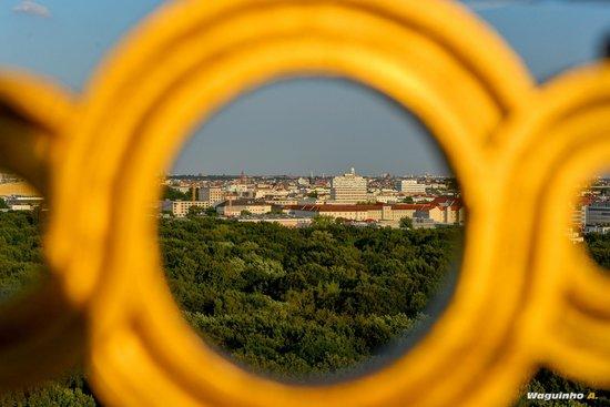 Tiergarten : View from the Victory Column (Siegessaule)