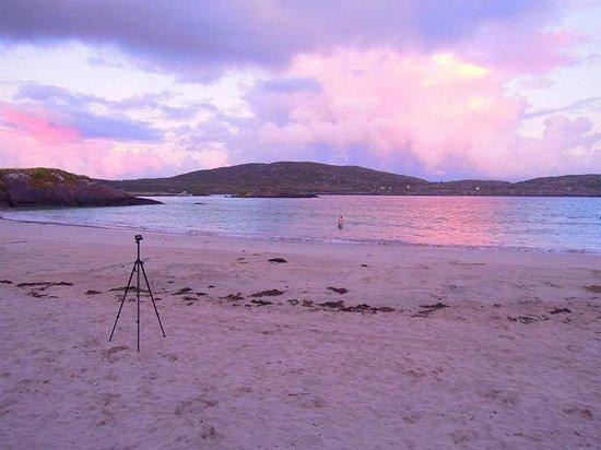 Derrynane Beach: Stunning evening time sunset.