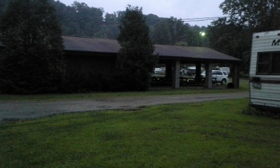 Girard, PA: Group Picnic Area & Restrooms