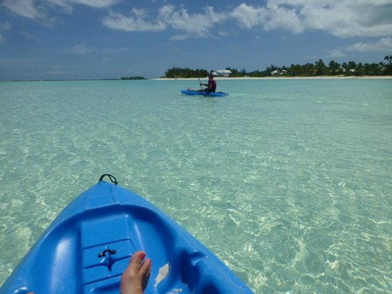 Bahama Beach Club : Kayaks