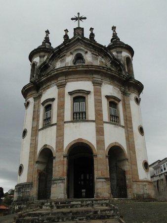 Our Lady of Rosario dos Pretos church : N. S. Rosário dos Pretos - Ouro Preto, MG