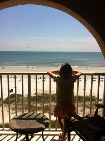 Courtyard by Marriott Jacksonville Beach Oceanfront: view from the 6th floor
