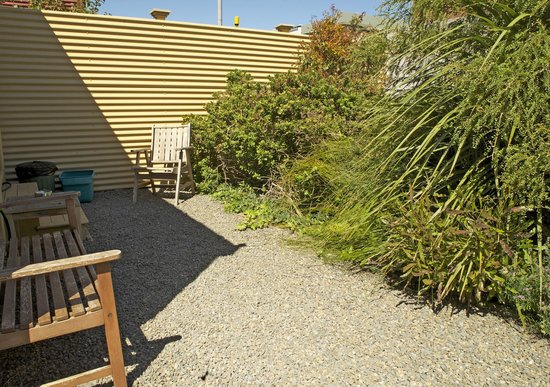 Wellington City Cottages: Sunny garden