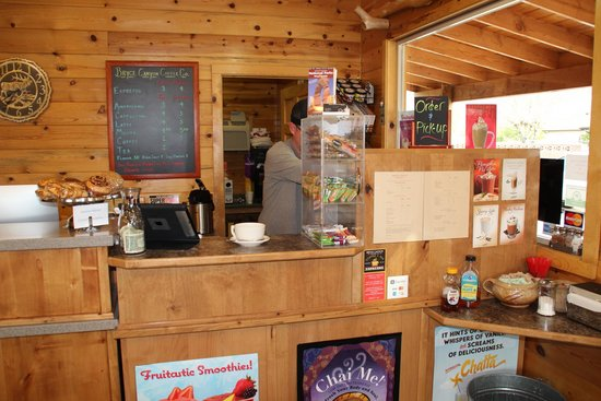 Bryce Canyon Coffee Co.: Espresso Bar and Pastries. Hot/Iced & Blended Drinks. Ice Cold Smoothies