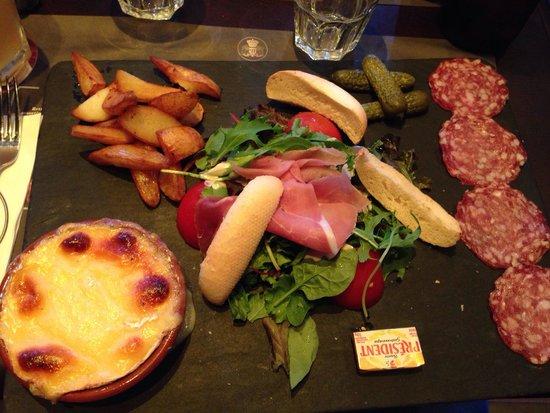 Camembert entier rôti picture of au bureau franconville