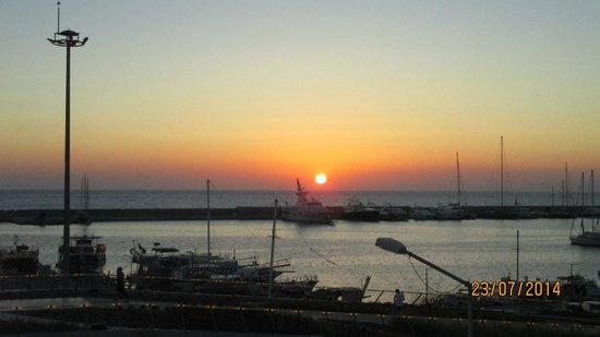 SENTIDO Marina Suites- Adult Only: vue de la terrasse