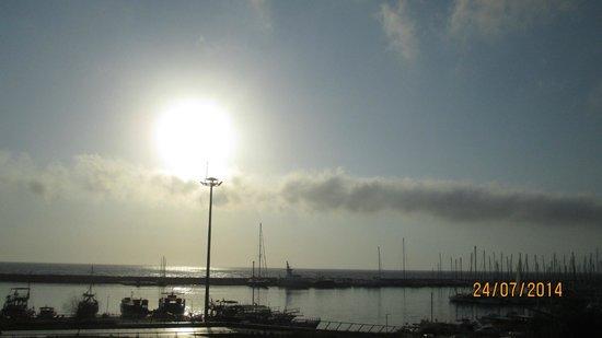 SENTIDO Marina Suites- Adult Only: vue le soir de la terrasse
