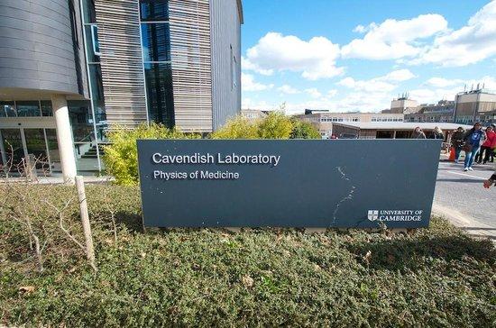 University of Cambridge : cavendish lab!