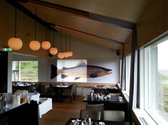 ION Adventure Hotel: The restaurant