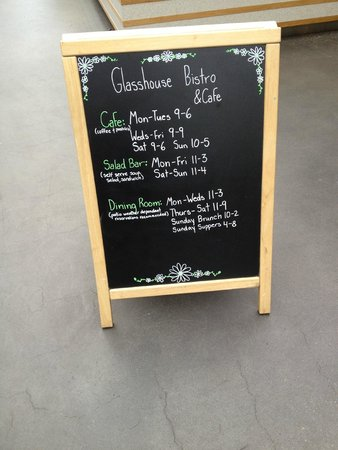Glasshouse Bistro and Cafe : Fun!