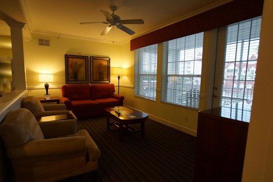 Diamond Resorts Grand Beach: living room