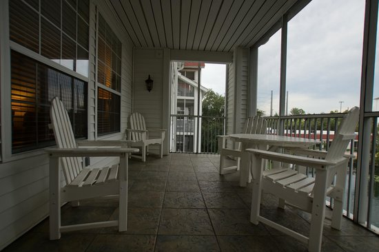 Diamond Resorts Grand Beach: patio