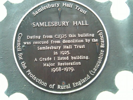 Samlesbury Hall: 1325! Wow