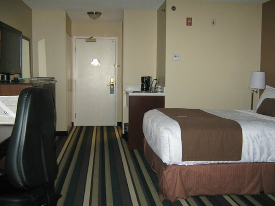 Best Western Plus Winnipeg Airport Hotel: Nice room, comfortablle bed.