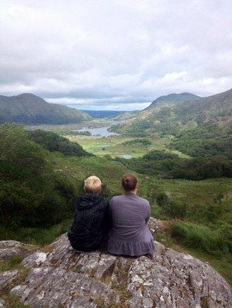 Ladies' View: My kids enjoying the view!