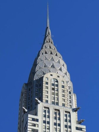 Chrysler Building: The crown