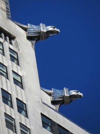 Chrysler Building: Birds of Prey waiting to swoop