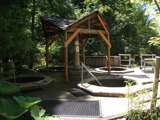 Breitenbush Hot Springs: spiral pools