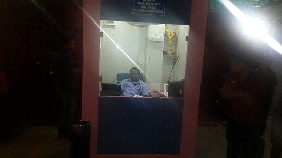 Krishna Hotel : Front counter of the restaurant.