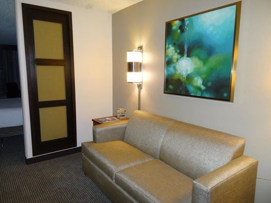 Hyatt Place Orlando/Convention Center: Sofa Bed with its own second room