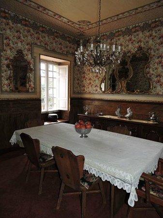 Hacienda La Alegria: The family's dining room where we had dinner