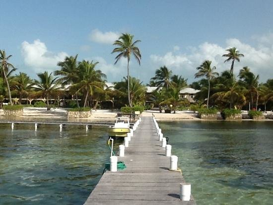 El Pescador Resort: View from the dock