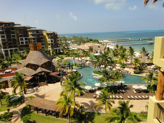 Villa del Palmar Cancun Beach Resort & Spa : Room view