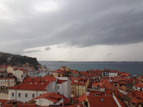 Villa Bellevue: Incredible and quiet town of Piran (next town toPortorož)