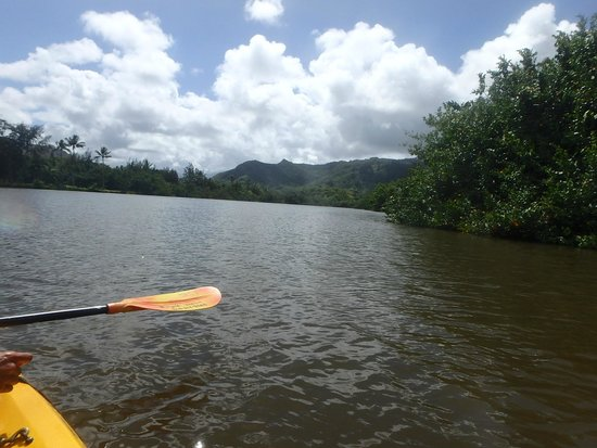 Kayak Wailua : Back at end of trip