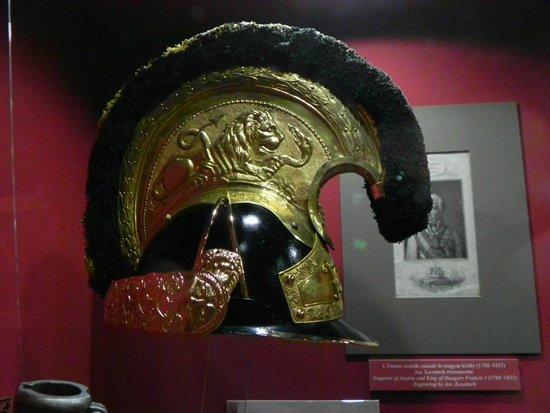 Museum of Military History (Hadtorteneti Muzeum) : Cavalry helmet from 1848 revolt