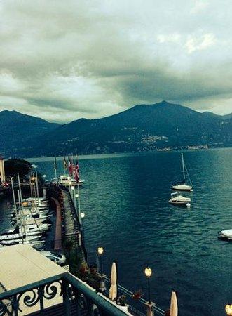 Hotel Bellavista: View of Lake Como from our room at Hotel Bella Vista in Menaggio.