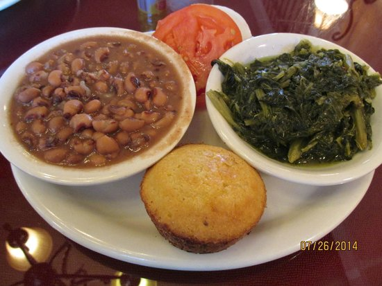Black eyed peas turnip greens onion tomato cornbread picture hermans soul food and catering black eyed peas turnip greens onion forumfinder Choice Image