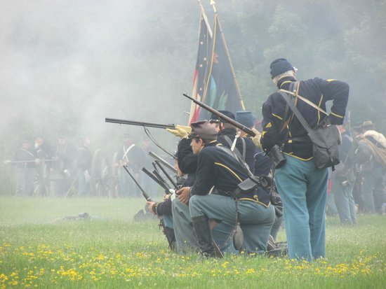 Genesee Country Village & Museum: Another Cavalry Battle shot