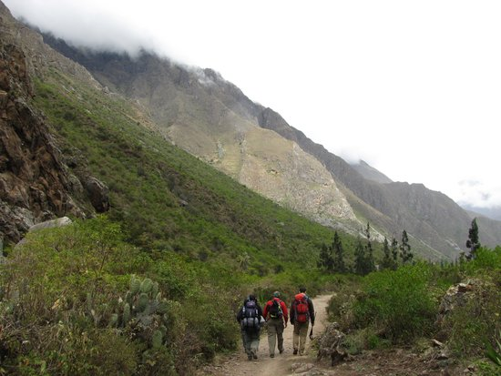 Inca Trail: Inicio Camino Inca