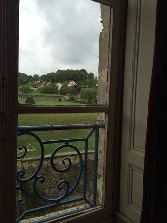 Chateau D'Etoges: our Chateau room