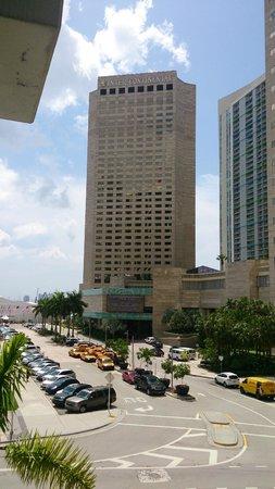 InterContinental Miami: Fachada do Hotel