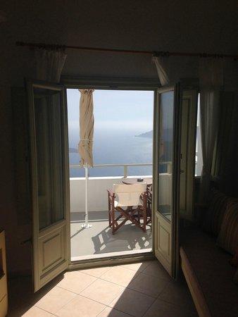 Irida Santorini : Large double doors