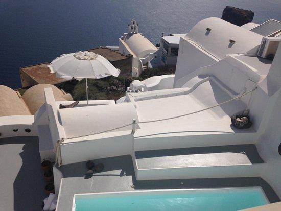 Irida Santorini : View from room