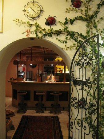 Hotel Sonnschein: Entrance to bar area