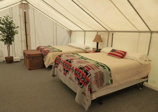 Bull Hill Guest Ranch: My tent