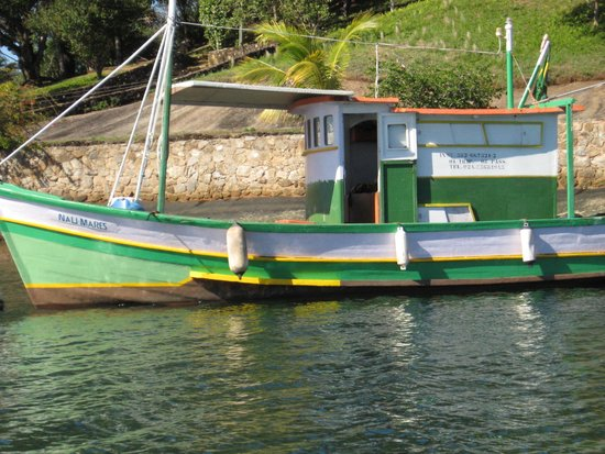 Promenade Angra dos Reis - TEMPORARILY CLOSED: Traineira passando