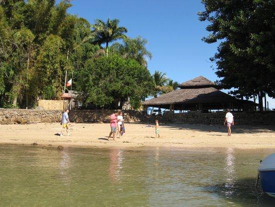 Promenade Angra dos Reis : Praia numa das ilhas