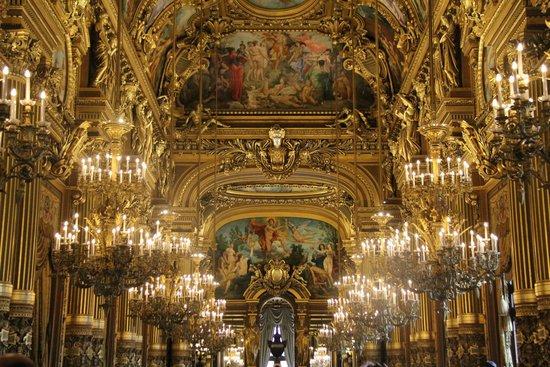 Opéra Garnier : Palais Garnier interior