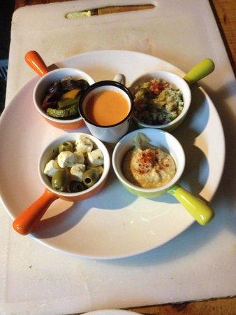 La Casbah : Casbah plate All vegetarian